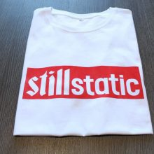 Define Still Static T Shirt - White