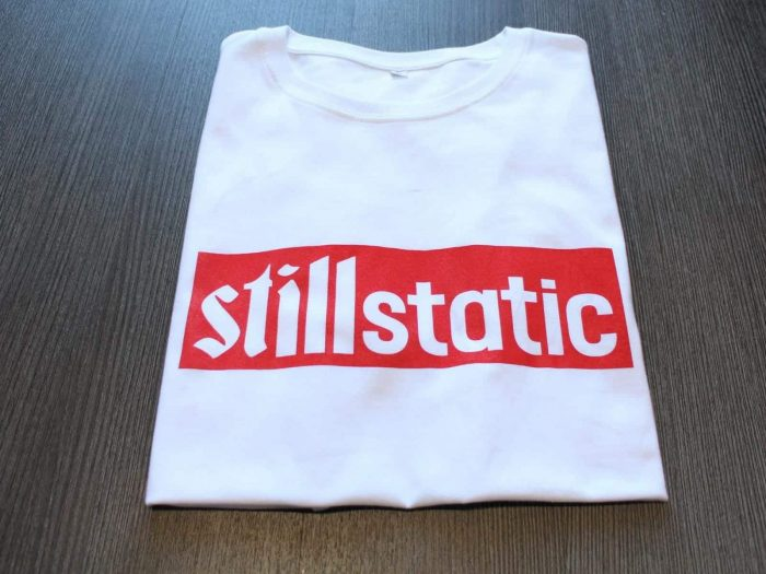 Define Still Static T Shirt - White
