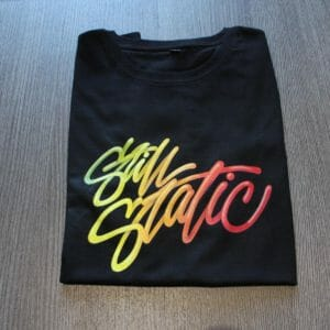 StillStatic ReDefine T Shirt Black Full Colour Digital Print