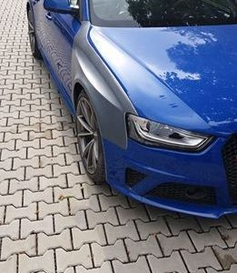 Audi RS4 B8 widened fenders 2cm per side