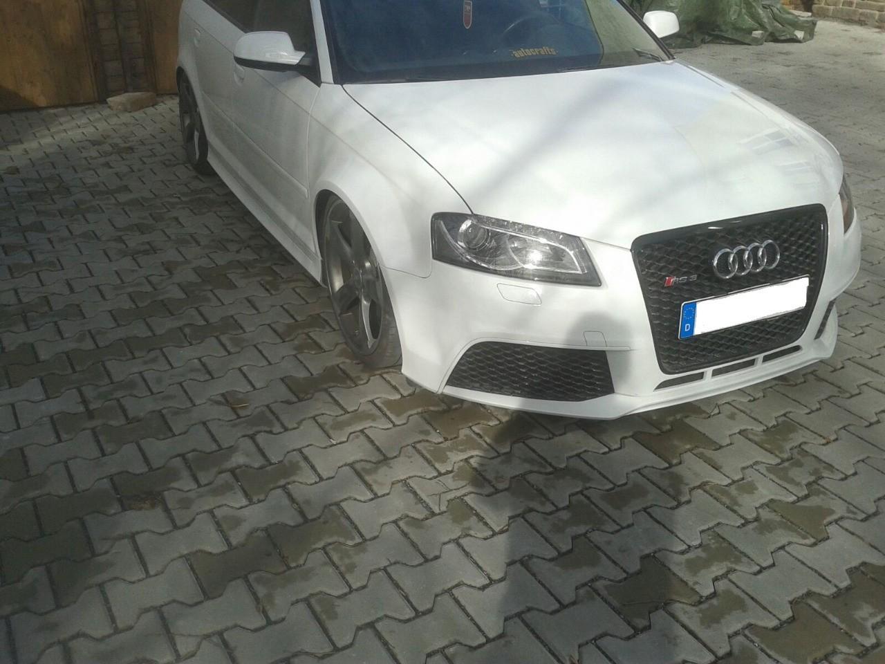 Muecke Audi Rs3 8p Widened Wings 3cm