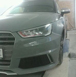Audi A1 widened fenders 3cm per side