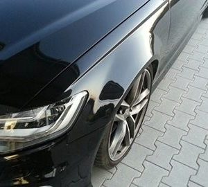 Audi A6 4G widened fenders 3 cm per side
