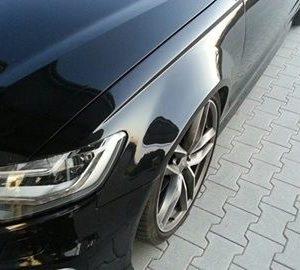 Audi A6 4G widened fenders 3 cm per side