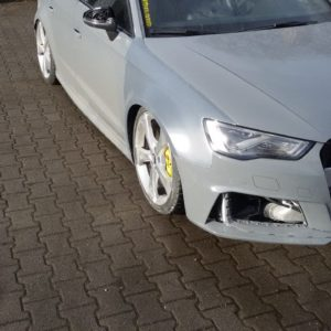 Audi RS 3 8V widened fenders