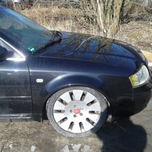 Audi A6 4B C5 widened fenders 3cm per side