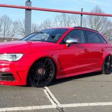 Audi A3 8V widened fender 3cm widened per side