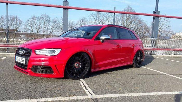 Audi A3 8V widened fender 3cm widened per side