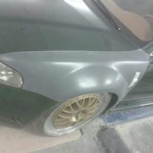 Audi RS4 B5 widened mudguard 2.5 cm per side