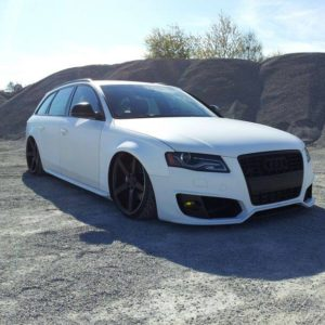 Widened Audi A4B8 8K fender 3cm per side
