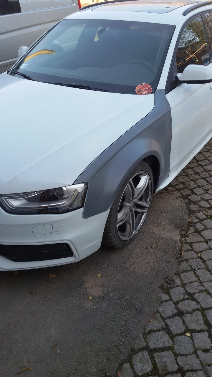 Muecke Audi A4 B8 8k Facelift Widened Wings 3 Cm