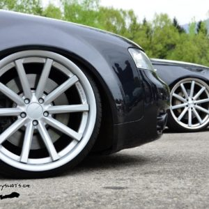 Audi A4B6 GFK fender 3cm widened per side