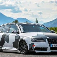 Audi A6 4F fender GFK