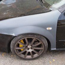 Seat Leon 1m widened fenders 3cm per side