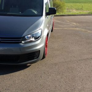 VW Touran widened mudguard 2.5 cm