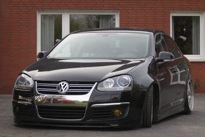 Golf 5 Variant widened fenders