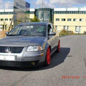 VW Passat 3bg GRP fender 3 cm widened