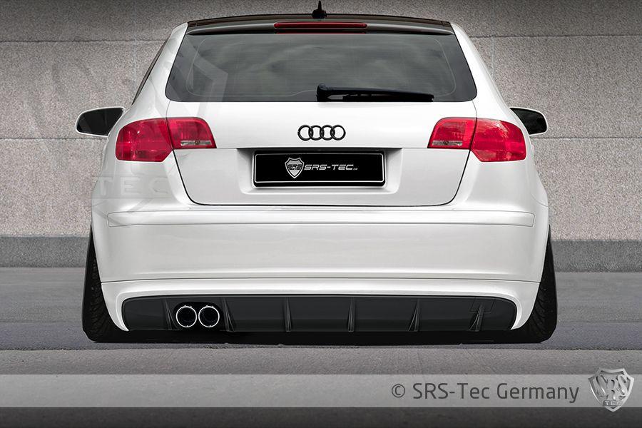 Rear Valance GT, Audi A3 Sportback 8pa