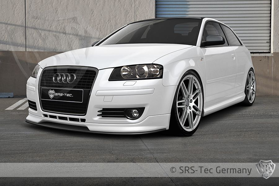 Front Spoiler GT, Audi A3 Sportback 8pa