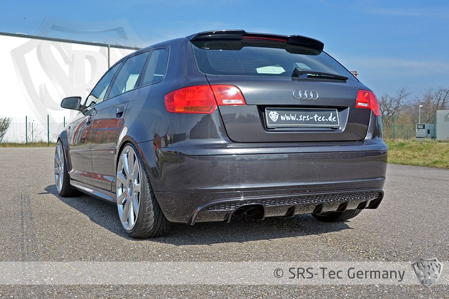 Rear Valance Rs, Audi A3 Sportback 8pa