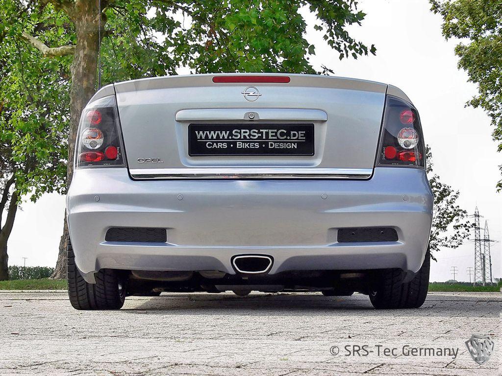 Rear Bumper Opx (opc), Opel Astra G