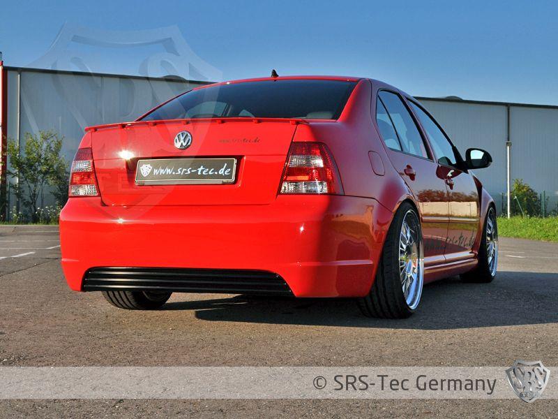 Rear Bumper R-style Clean, VW Bora