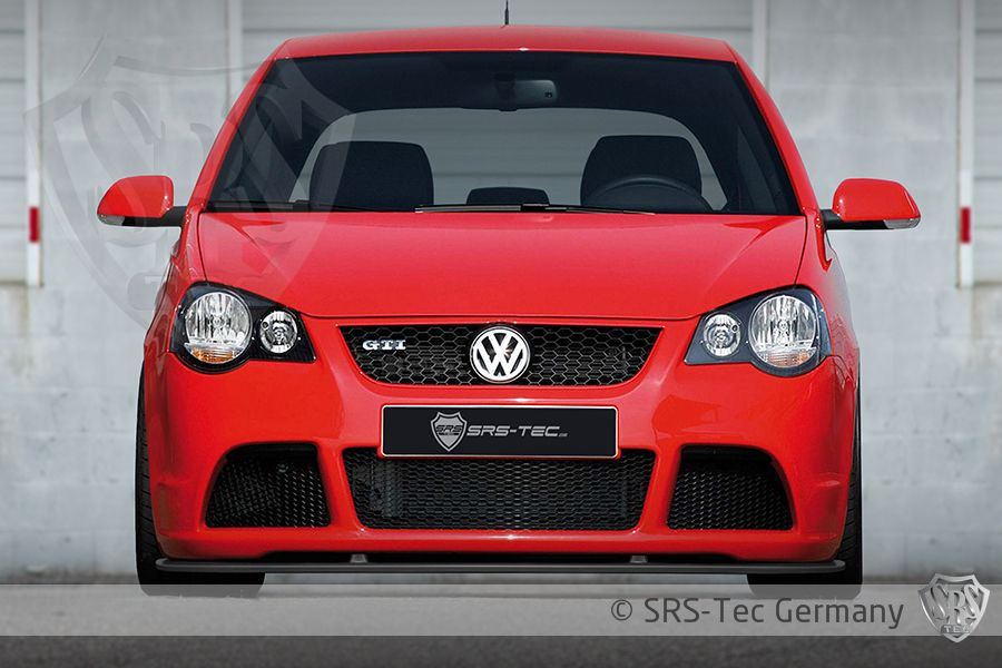 Front Spoiler Lip Cup, VW Polo 9n3